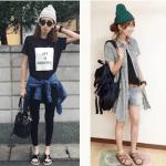 ニット帽のレディースの夏コーデ!人気の夏用ニット帽を紹介!
