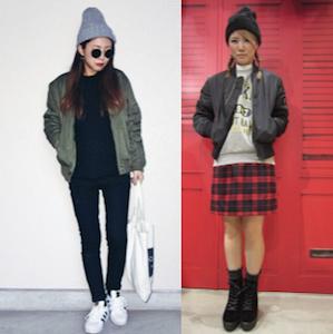 MA1×ファッションアイテム2