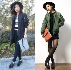 MA1×ファッションアイテム