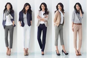 ユニクロのスキニーパンツを着こなす方法5 (人気のスタイル)