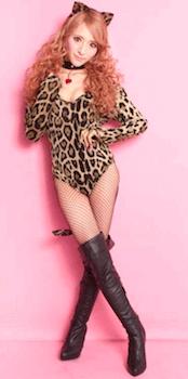 豹 、猫ハロィン仮装5