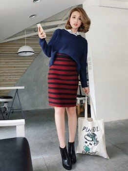 タイトスカートの種類2 (ショートタイトスカート)