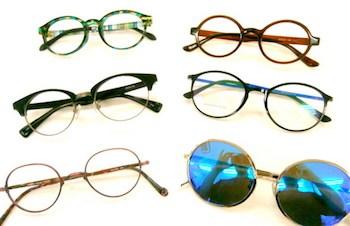 丸メガネの選び方3  フレームのタイプを選ぶ