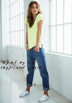 おしゃれに夏服を着こなす方法5:蛍光カラーTシャツを着る