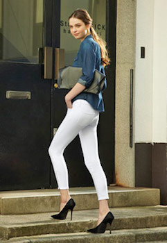 ユニクロのスキニーパンツを着こなす方法4 (サイズ)