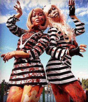 囚人のハロウィン仮装4