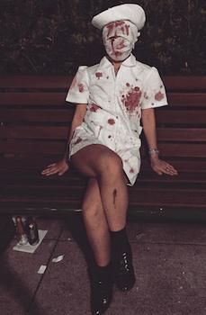 ナースのハロウィン仮装5