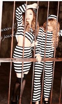 囚人のハロウィン仮装3