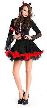 小悪魔のハロウィン仮装1