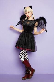 小悪魔のハロウィン仮装4