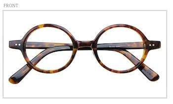 丸メガネの形2 ラウンド