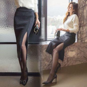 タイトスカートの種類5 (スリットタイトスカート)