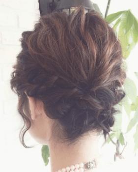 結婚 式 髪型 ショート 自分 で
