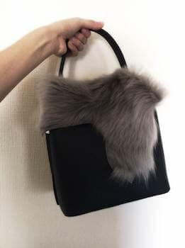 ファーカバー付きのレディースにおすすめのおしゃれなハンドバッグ