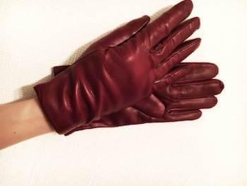 ナッパ革を使用したレディースに人気の手袋