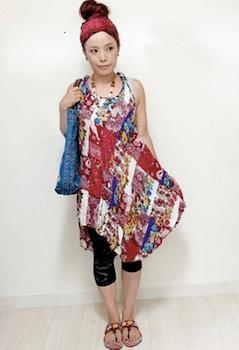 エスニックファッションのレディースのおしゃれな着こなし方:サイズ