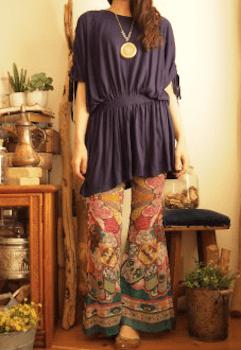 エスニックファッションのレディースのおしゃれな着こなし方:スタイルカバー