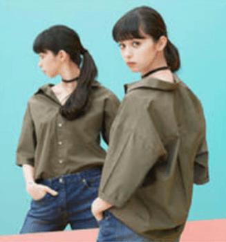 抜襟シャツ
