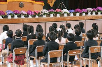 入学式は子供が主役を忘れない事!