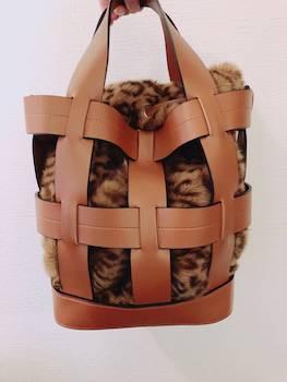 おすすめのおしゃれなレオパード柄のファーバッグ