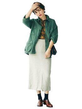 靴下とスカートスタイルはおすすめ