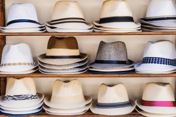 麦わら帽子の種類
