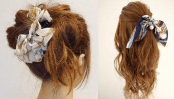 ロングヘアの髪型に合うへアクセサリー