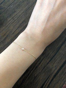 10Kダイヤモンドがおしゃれなレディースにおすすめのブレスレット