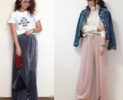 Velor pants coordination ladies