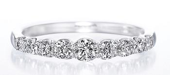 指輪の重ね付けにおすすめの指輪:エタニティリング