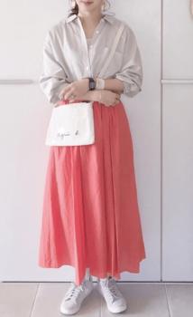 フレアスカート×