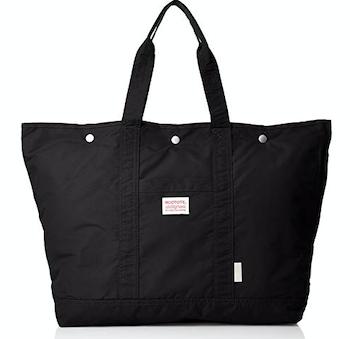 トート型のマザーズバッグ