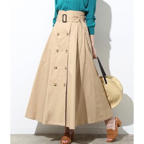 トレンチスカートとは?