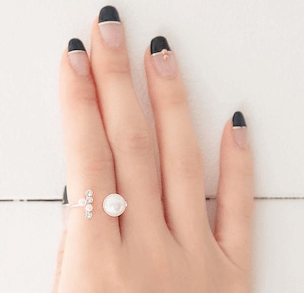 指輪の重ね付けにおすすめの指輪:カフリング