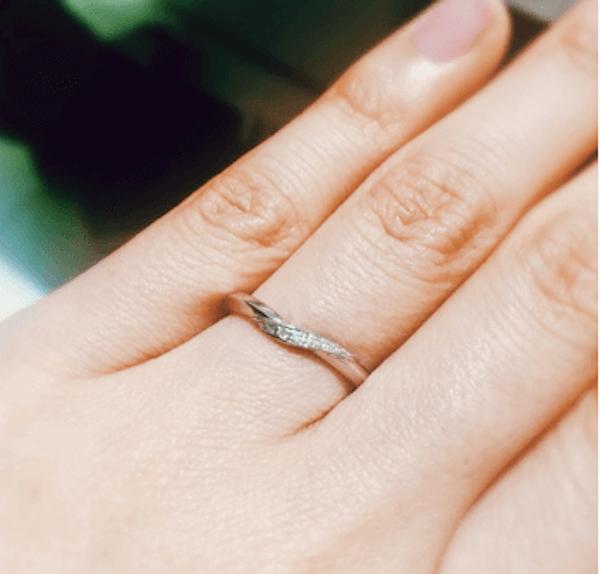 細くて短い指に似合う指輪指輪のおしゃれな付け方: