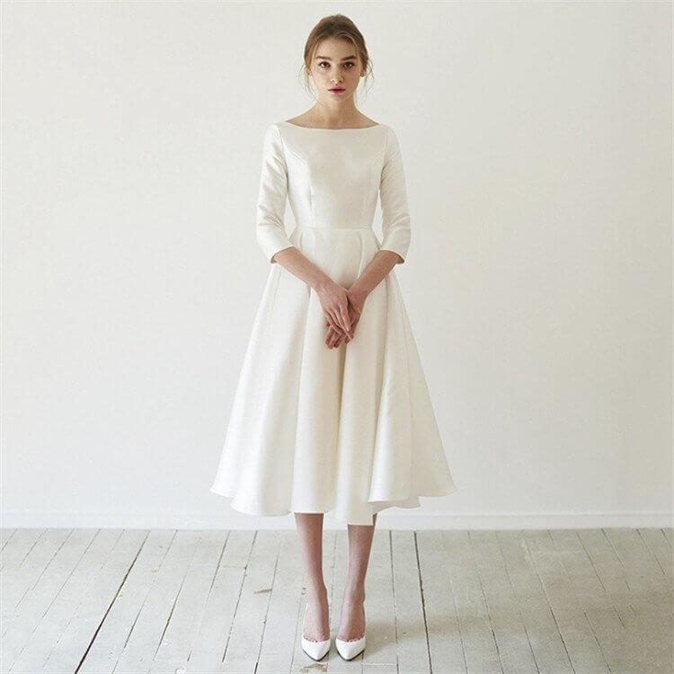 (NG)白や黒一色のドレス