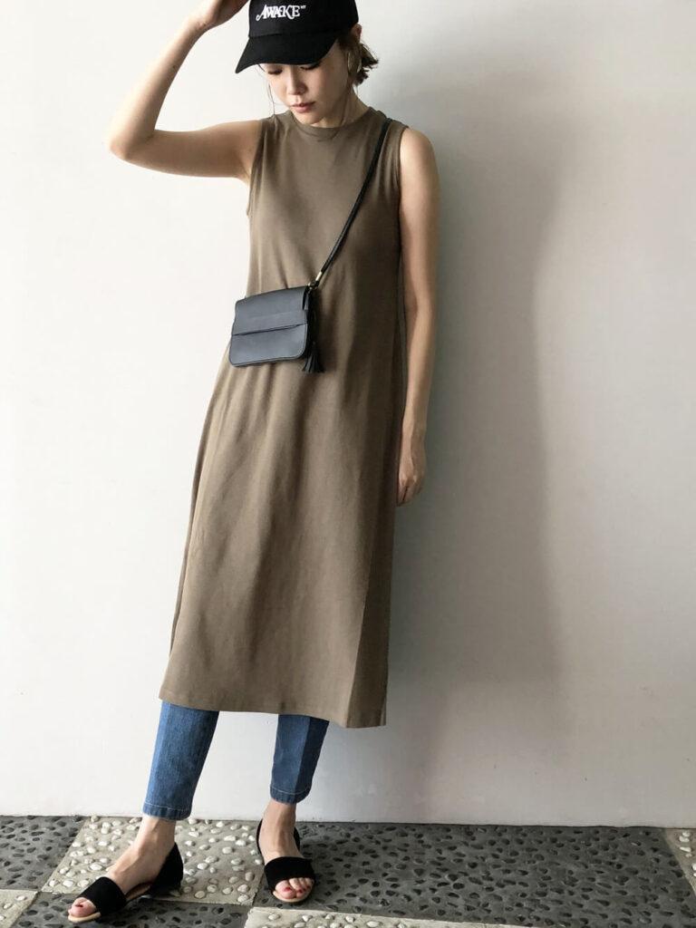アスレジャーファッションが支持される理由3:コーデが合わせやすい