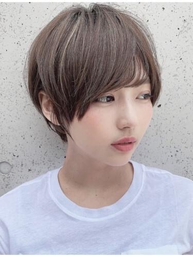 夏のショートの髪型:セシルショートカット