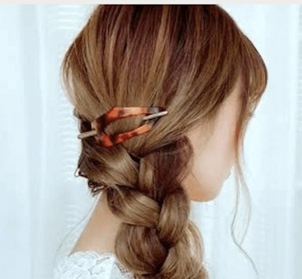 ロングの髪型に合うヘアアクセサリー:マジェステ