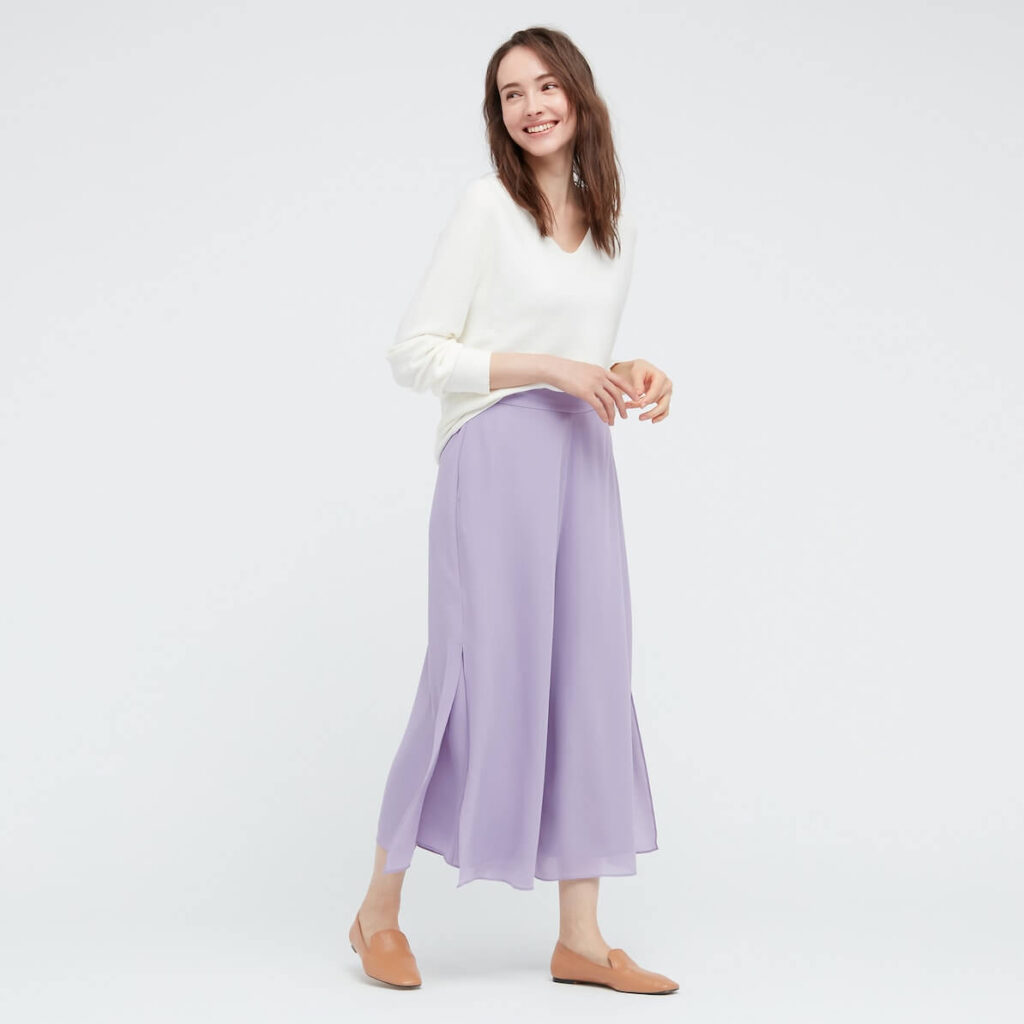 ユニクロのスカンツを着こなす方法やコツは?