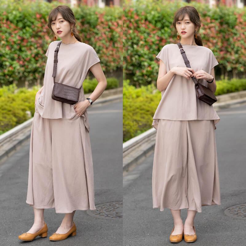 GUのスカーチョの魅力:アイテムコーデができる