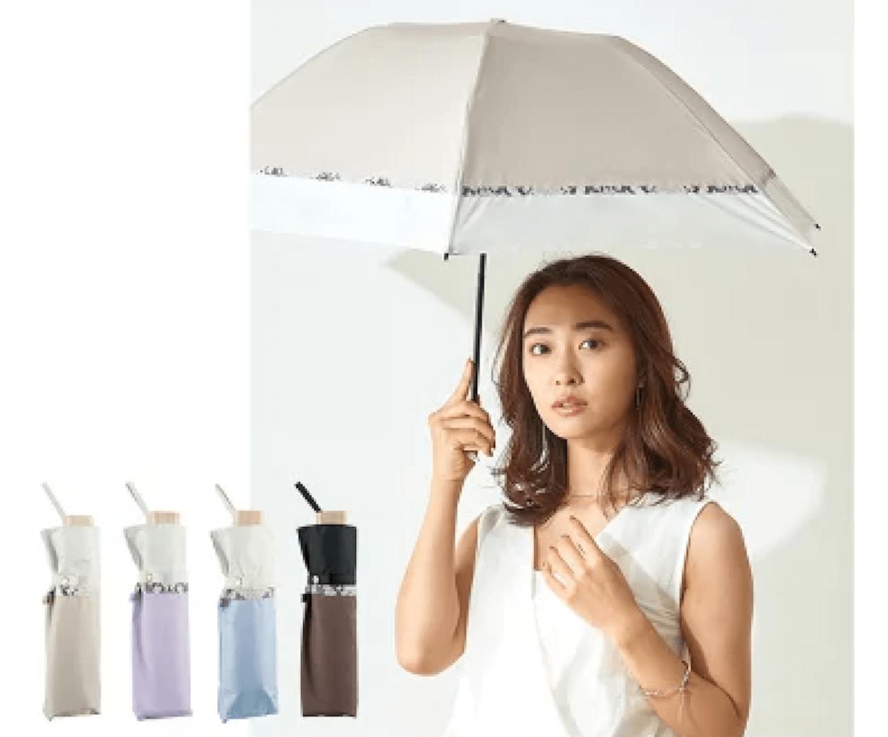 折りたたみの日傘でレディースに人気は?完全遮光の可愛い折りたたみ日傘も紹介!