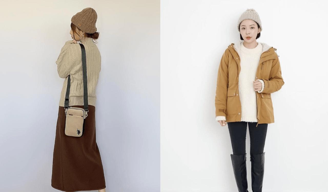 ニット帽のレディースの秋冬コーデ2021!人気でおしゃれなニット帽を紹介!