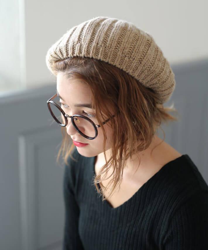 ベレーニット帽