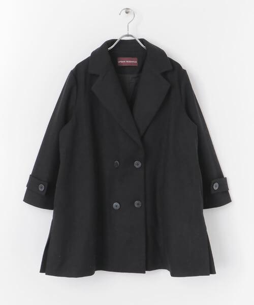 Pコートを秋冬に着こなすポイント:定番色は黒色