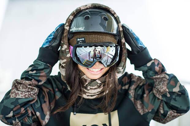 スノーボードのゴーグルでレディースにおすすめ
