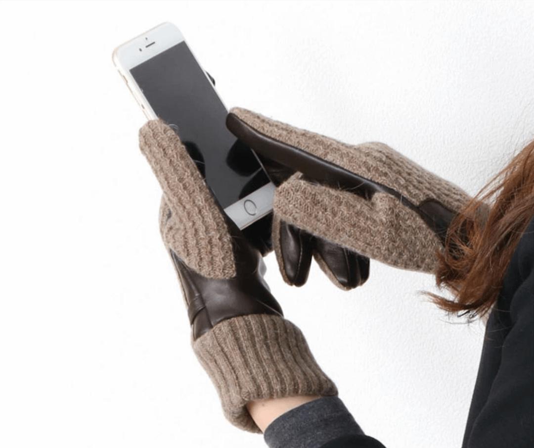 スマホ対応のレディース手袋!人気でおすすめのスマホ対応の手袋を紹介!