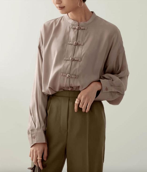 2021春服のトレンド柄やデザイン:チャイナデザイン