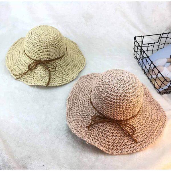レディースに人気の麦わら帽子